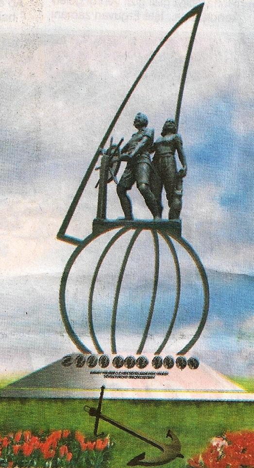 Amatör Denizciler Heykel Tasarımı