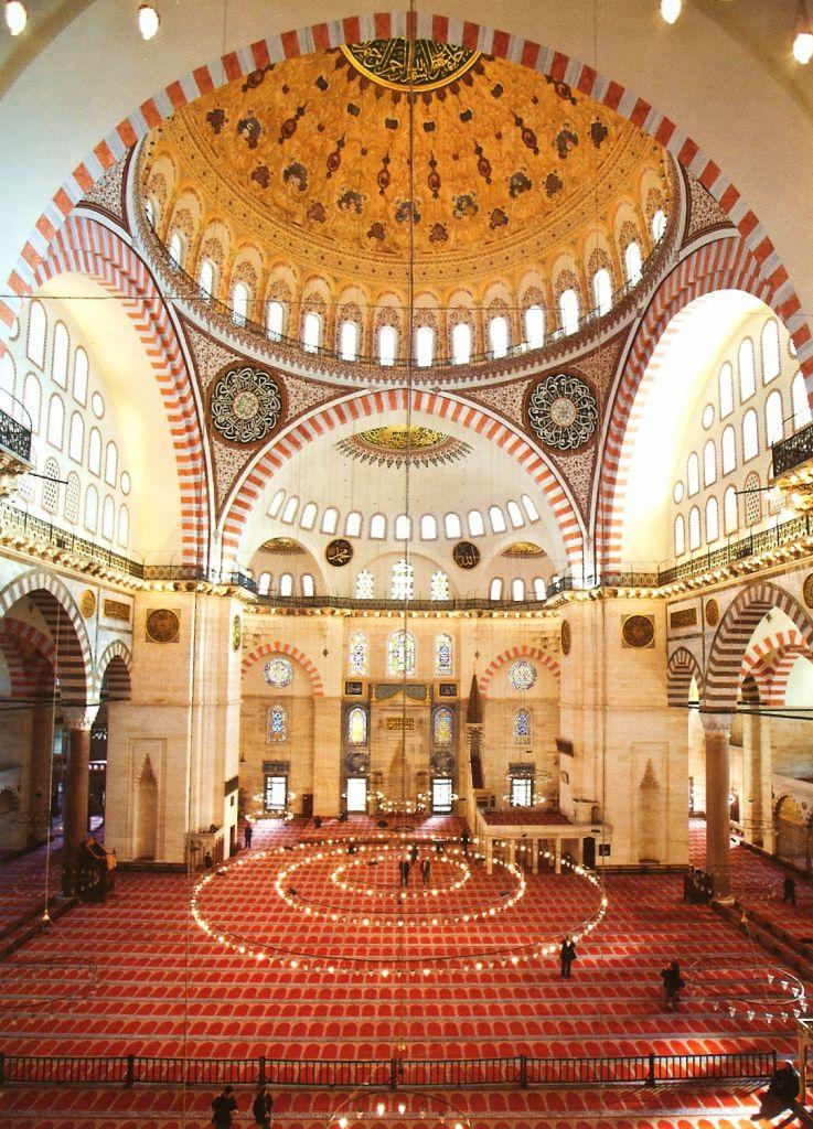 Süleymaniye iç mekan