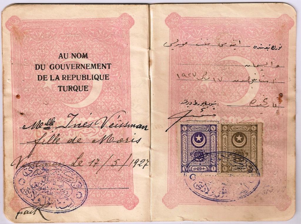 Pasaportun diğer sayfası