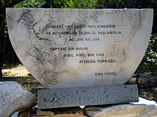Can Yücel'in bir şiiri