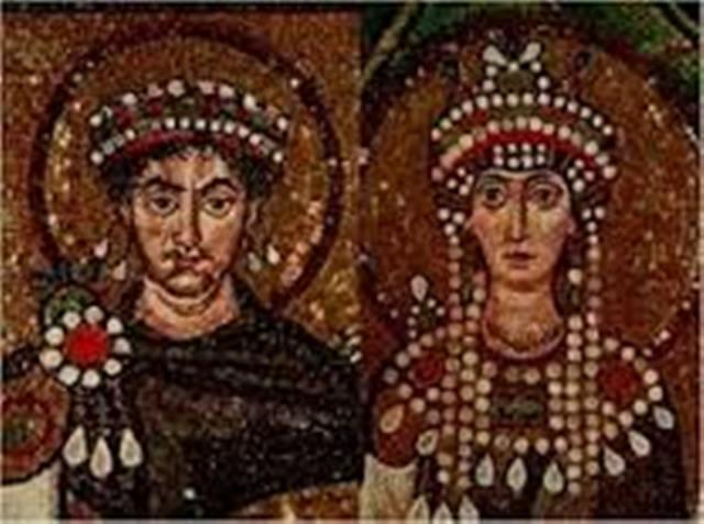 Theodora ile Justinianus
